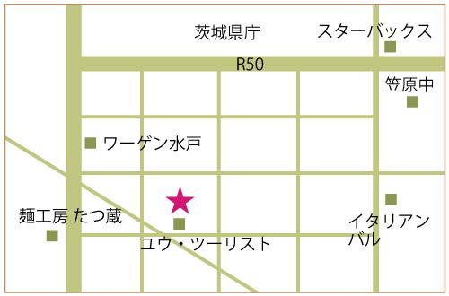 トータルビューティー  完全個室エステティックサロン RL(アール)水戸店 マップ